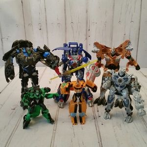 Lot of 6 Transformers